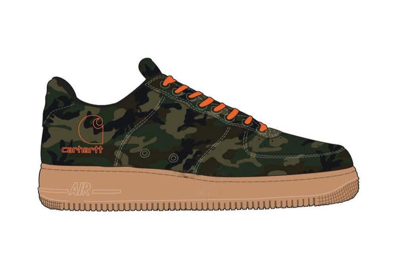 Carhartt WIP x Nike Air Force 1 聯乘系列曝光