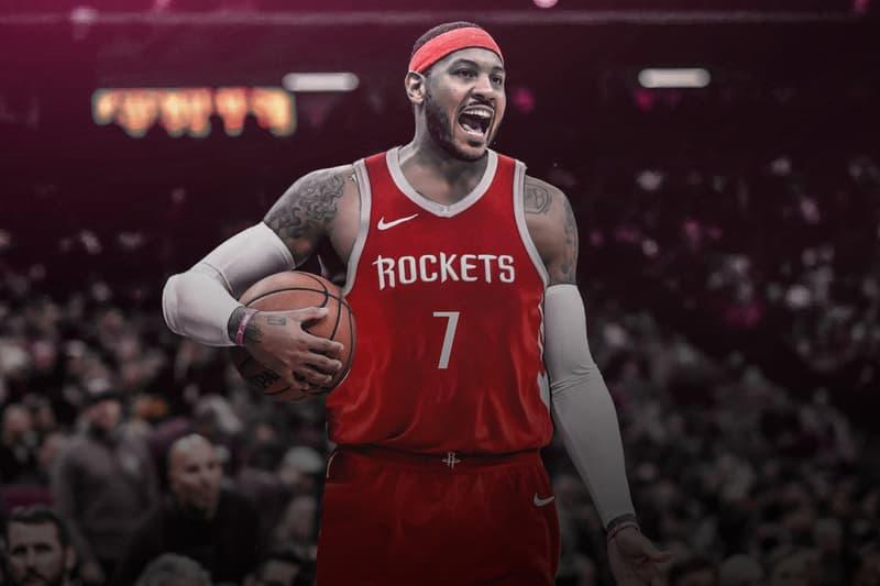 NBA 交易消息 − Carmelo Anthony 計劃以一年 240 萬美元簽約加盟 Houston Rockets