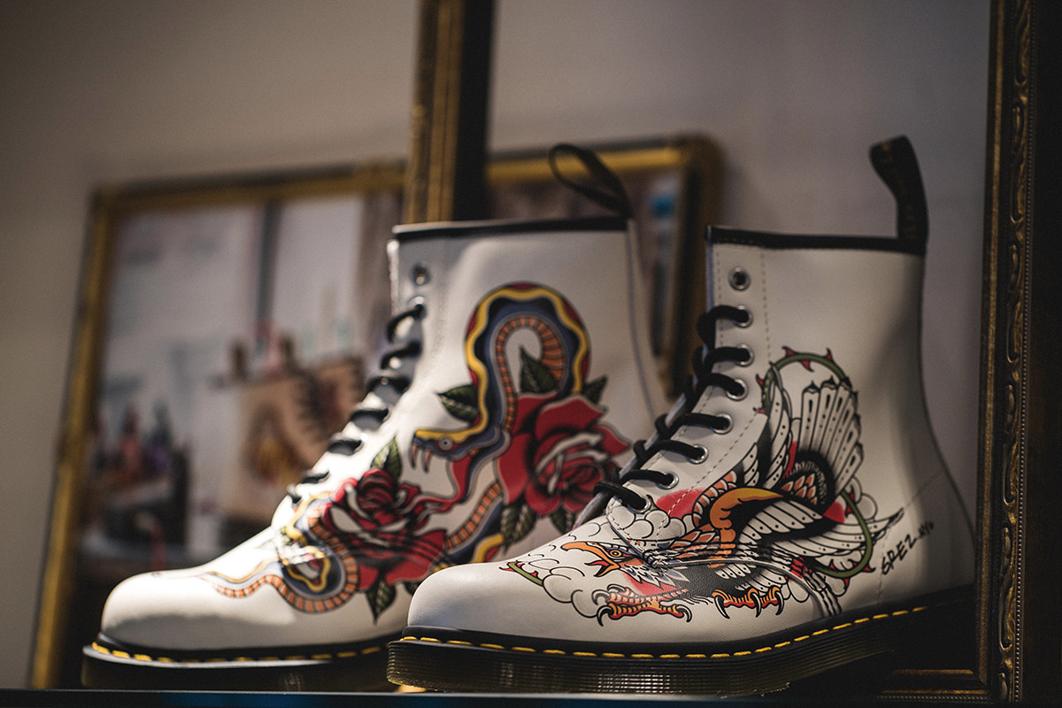 走進 Dr. Martens 東京發佈會-專訪「Tattoo」系列英、美、日三大紋身師