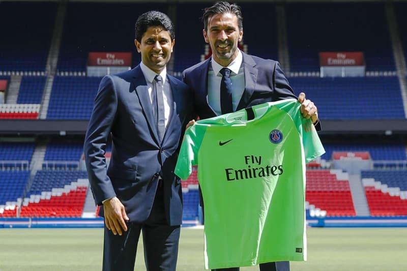 意大利傳奇門將 Gianluigi Buffon 正式現身巴黎聖日耳門 PSG