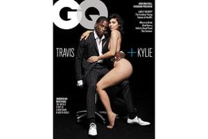 Travis Scott 與 Kylie Jenner 一同登上《GQ》八月刊封面