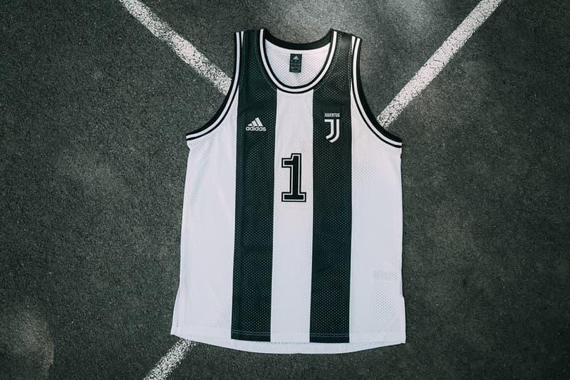 Juventus 攜手 adidas 推出全新籃球服