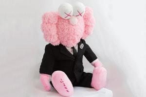 天價之物-Dior x KAWS 的粉紅色別注 BFF Plush 登陸 Stock X