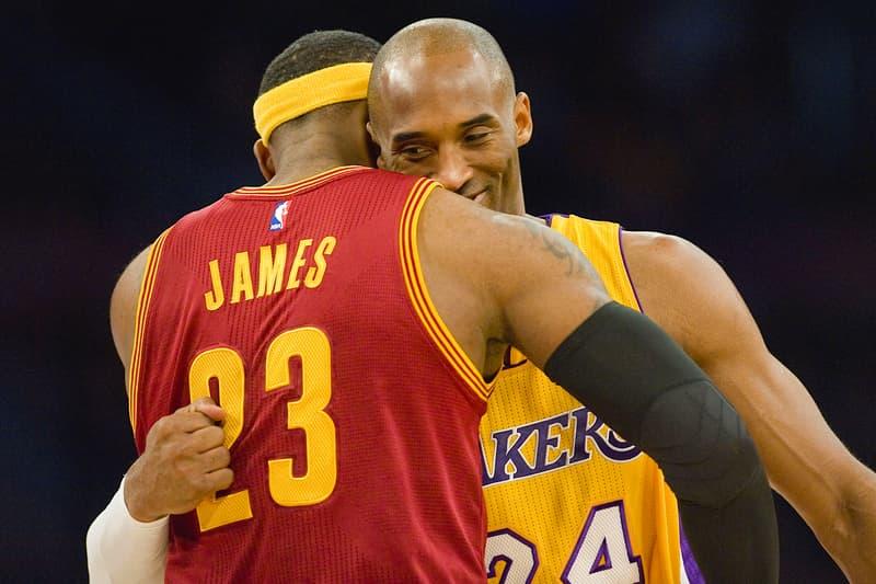 NBA 交易消息-球隊功勳 Kobe Bryant 如何看待 LeBron James 加盟 Lakers?