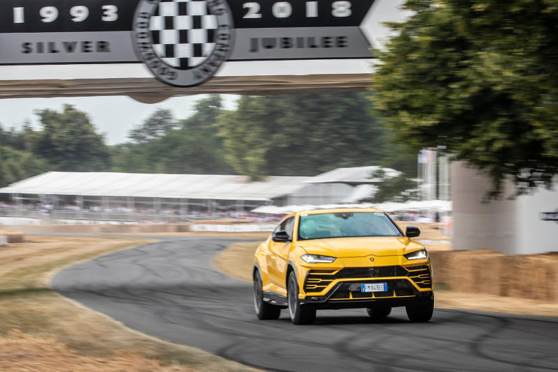 Lamborghini Urus 現身英國 Goodwood Festival of Speed