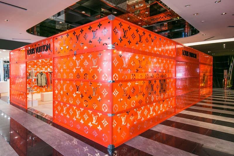 Louis Vuitton 期間限定店進駐台北信義新天地