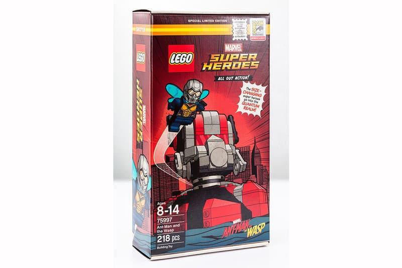LEGO 發佈 Marvel《蟻俠2:黃蜂女現身》組合