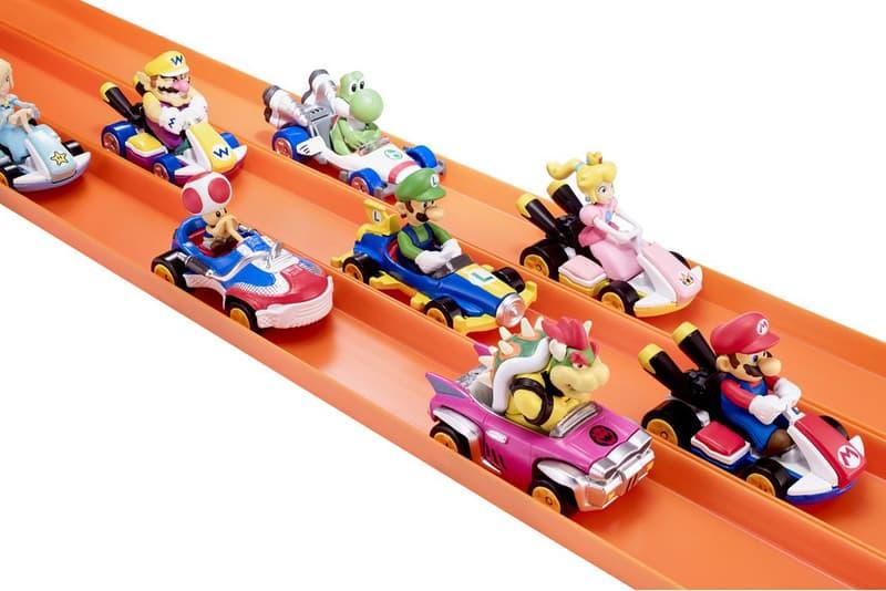MATTEL 與 Nintendo 合作推出 Mario Kart 主題的 Hot Wheels 玩具