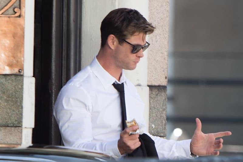 雷神轉職-Chris Hemsworth 參演的《Men in Black 4》電影組圖釋出