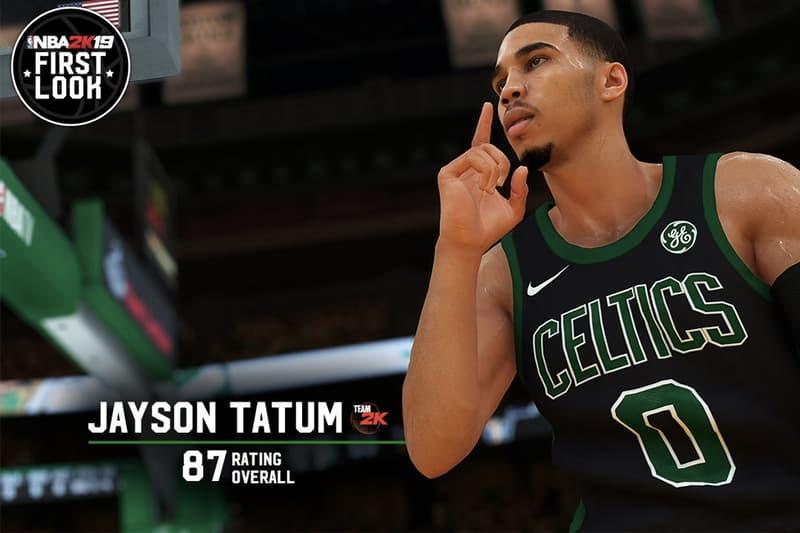史上最高分新秀!?Jayson Tatum「NBA 2K19 能力值」搶先公開