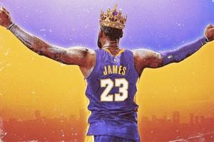 聯盟第一人 − 湖人隊 LeBron James「NBA 2K19 能力值」搶先公開