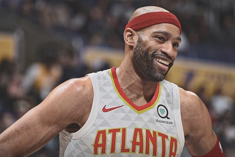 NBA 交易消息 − 傳奇球星 Vince Carter 以一年 $240 萬美元加盟 Hawks