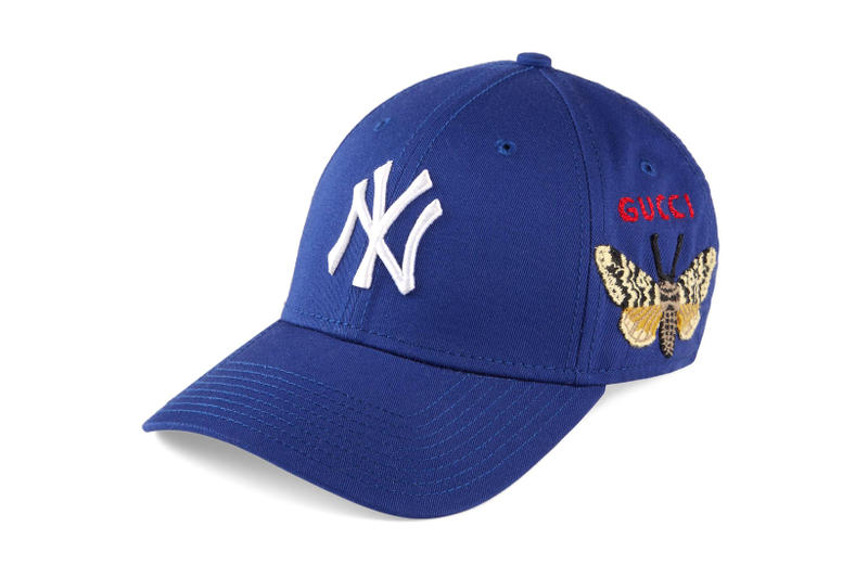 Gucci x New York Yankees 聯乘別注系列發售情報公開