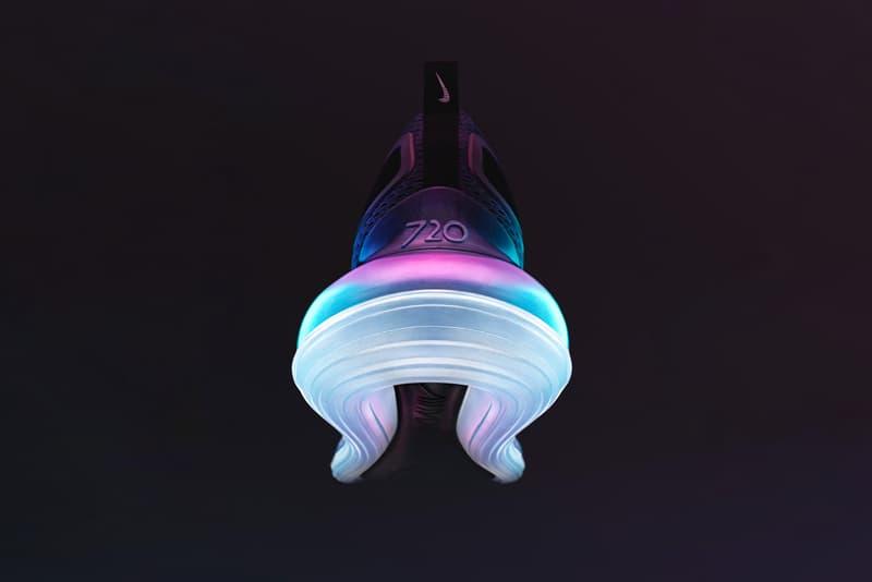 氣墊全面升級!Nike 發佈全新鞋款 Air Max 720