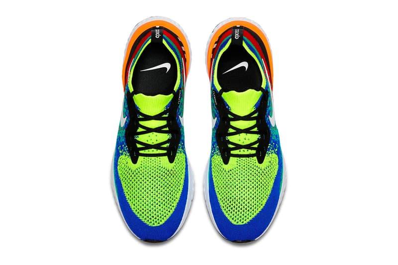 Nike Epic React Flyknit 全新「Belgium」配色官方圖片釋出