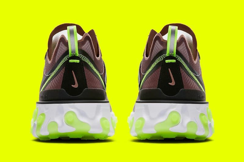 Nike React Element 87 全新「Dark Grey」及「Desert Sand」配色官方圖片釋出