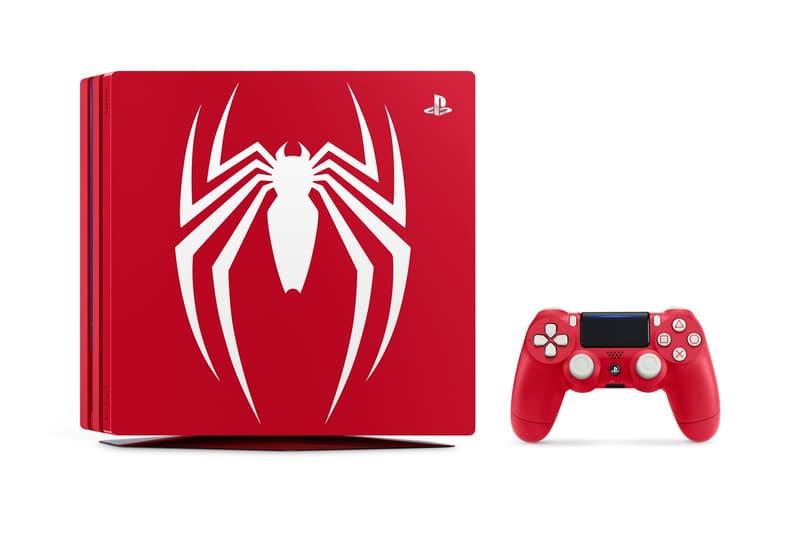 Sony「Marvel's Spider-Man」PlayStation 4 Pro 別注版官方圖正式現身