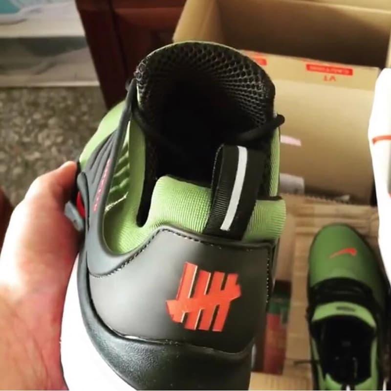 UNDEFEATED x Nike 全新聯乘 Air Presto 諜照曝光