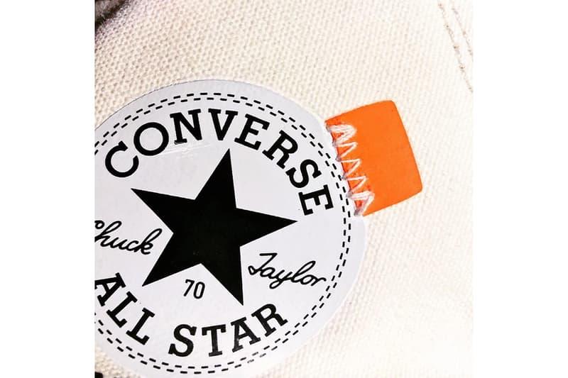 疑似 Off-White™ x Converse Chuck Taylor All Star 70 HI V2 版本諜照曝光