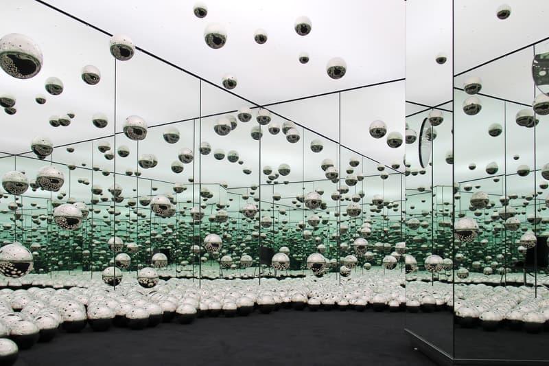 草間彌生為芝加哥 wndr museum 打造特別版 Infinity Mirror Room