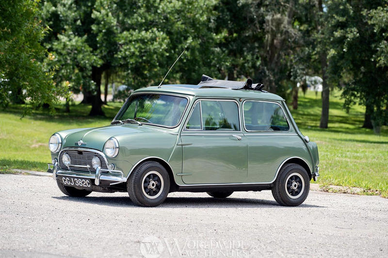 曾由 Beatles 成員 Paul McCartney 擁有!1965 年 Mini Cooper S DeVille 將被拍賣