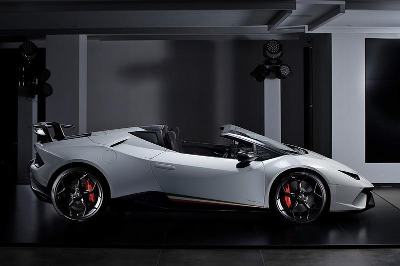 Lamborghini Huracán Performante Spyder 升級開篷版本正式抵港