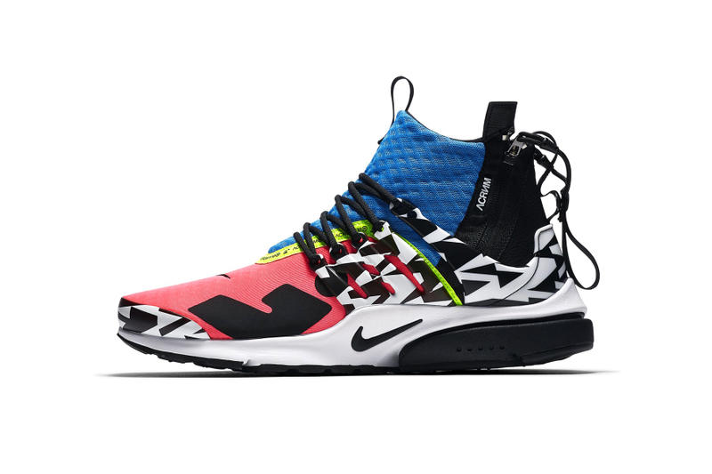 separation shoes 807a8 d02b4 ACRONYM x Nike 2018 聯乘Presto Mid 官方圖片曝光