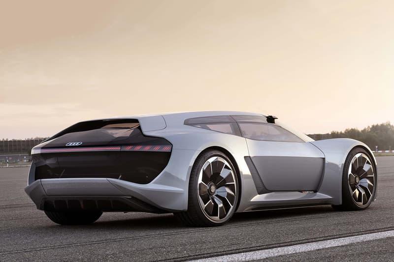 中置駕駛席!Audi 首款純電能超級跑車正式公佈!