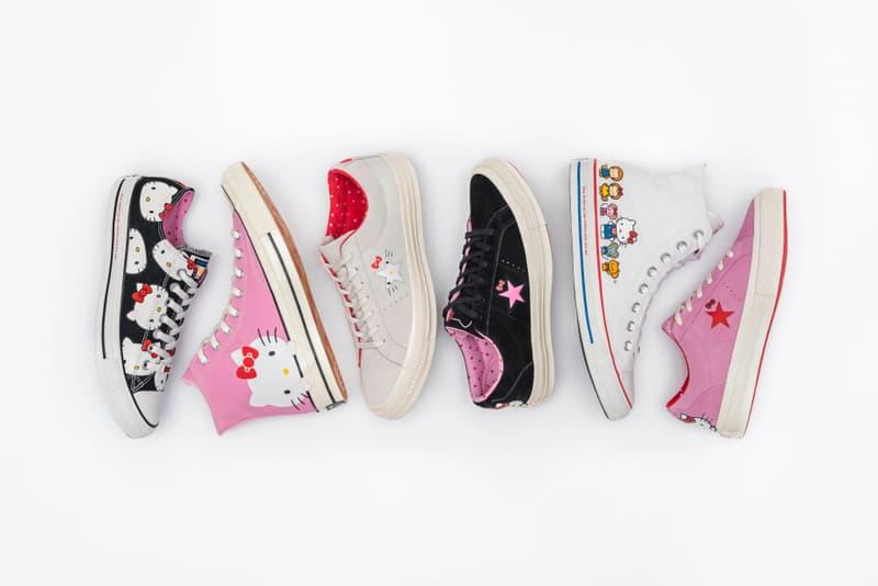 回到少女心!Converse x Hello Kitty 全新聯乘系列上架情報