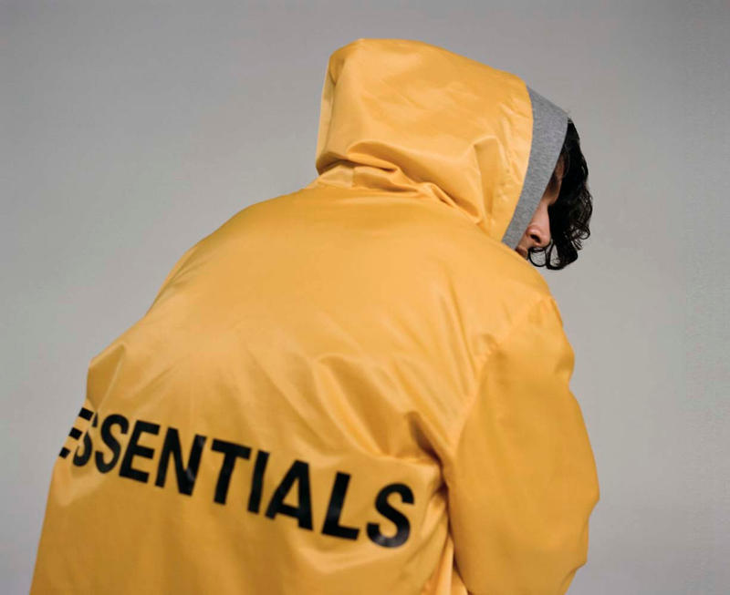 Fear of God 發佈 2018 秋冬 ESSENTIALS 副線系列 Loobook