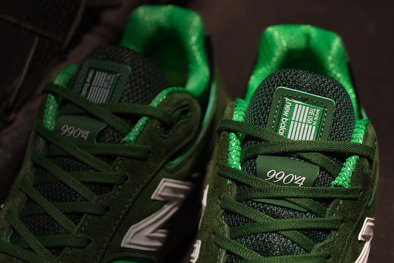 New Balance x mita sneakers 聯手打造青蛙配色 990v4「Bouncing Frog」