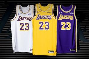 Los Angeles Lakers 正式公佈 2018-19 賽季全新 Nike 球衣系列
