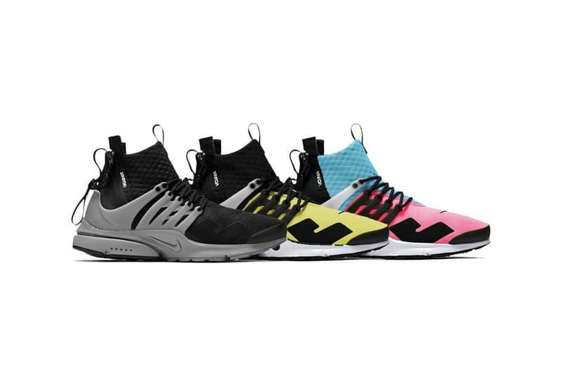 ACRONYM x Nike 2018 聯乘 Presto Mid 系列發售信息曝光