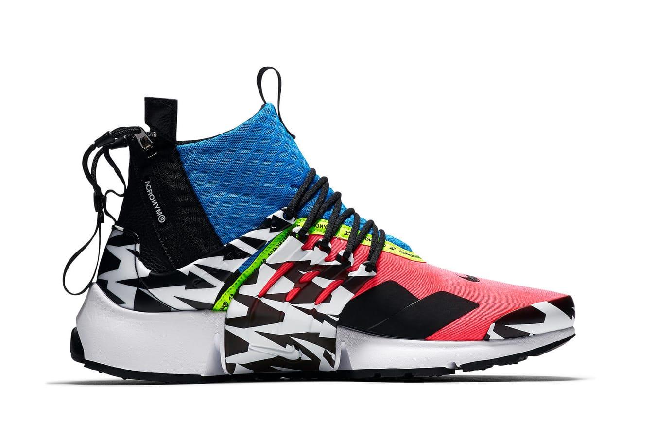 Nike Air Presto Mid x ACRONYM® 全新系列