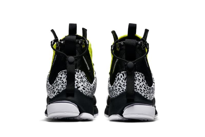 Nike Air Presto Mid x ACRONYM® 全新系列正式發佈
