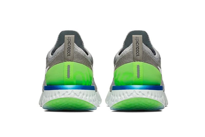 Nike Epic React Flyknit 全新「Sprite」配色上架