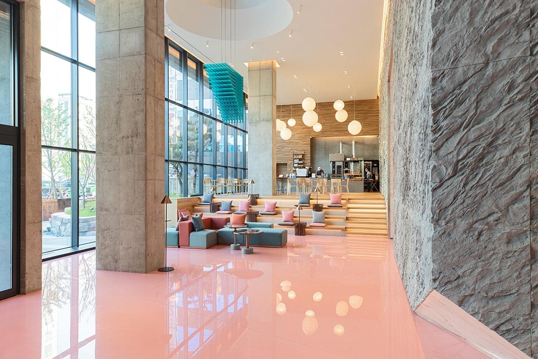 弘大次文化集散地-走進韓國首爾人氣酒店:RYSE HOTEL