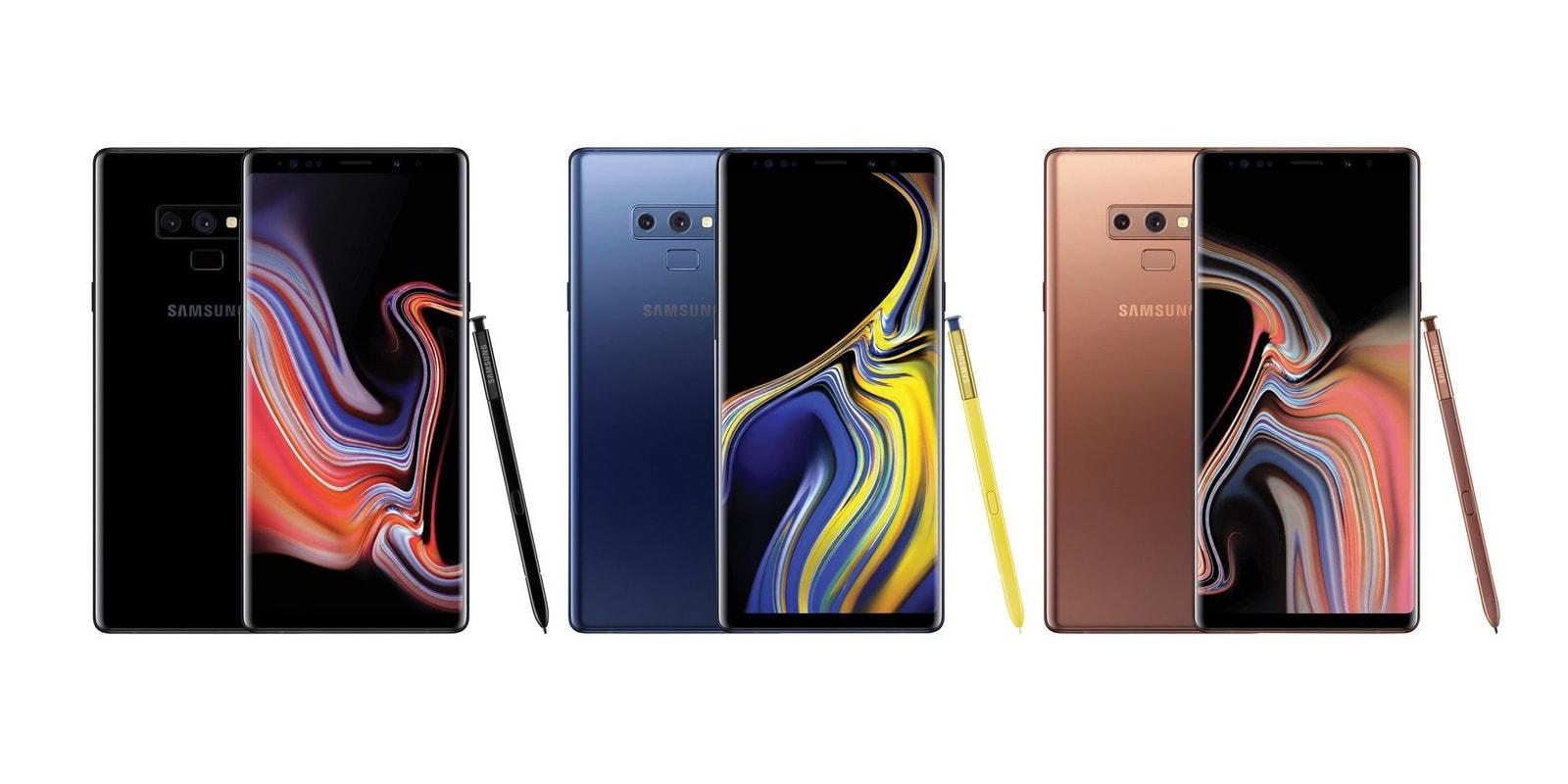 Samsung 正式發佈新一代旗艦手機 Galaxy Note 9