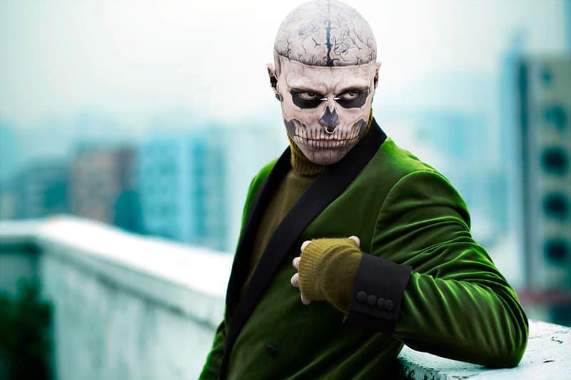 終年僅 32 歲-著名刺青模特兒「Zombie Boy」Rick Genest 自殺離世