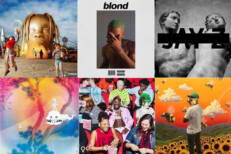 視覺更勝聽覺?細數 8 張極具收藏價值的說唱專輯封面