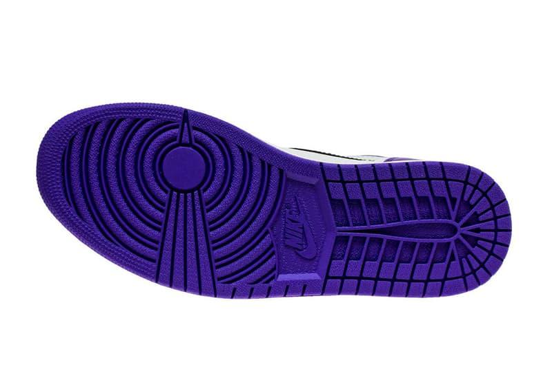 「Bred Toe」延伸-近賞 Air Jordan 1「Court Purple」全新配色