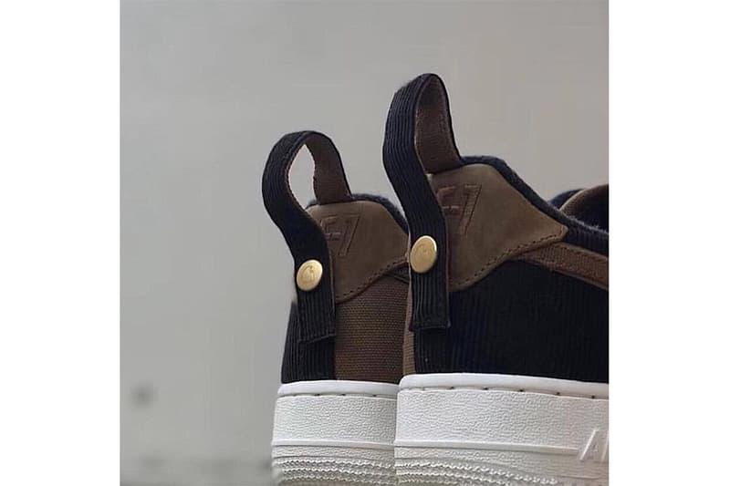 Carhartt WIP x Nike 別注 Air Force 1 實物圖片曝光
