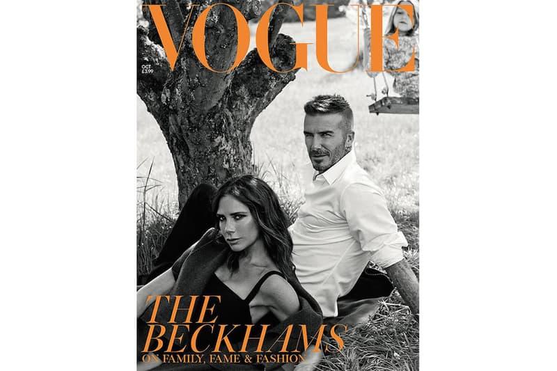 David Beckham 家族登上《VOGUE》十月號封面