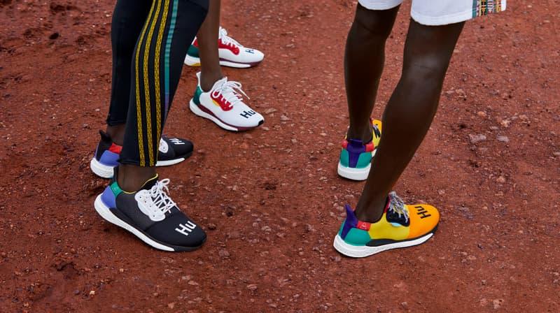 Pharrell x adidas 全新聯乘 SOLARHU 系列正式發佈