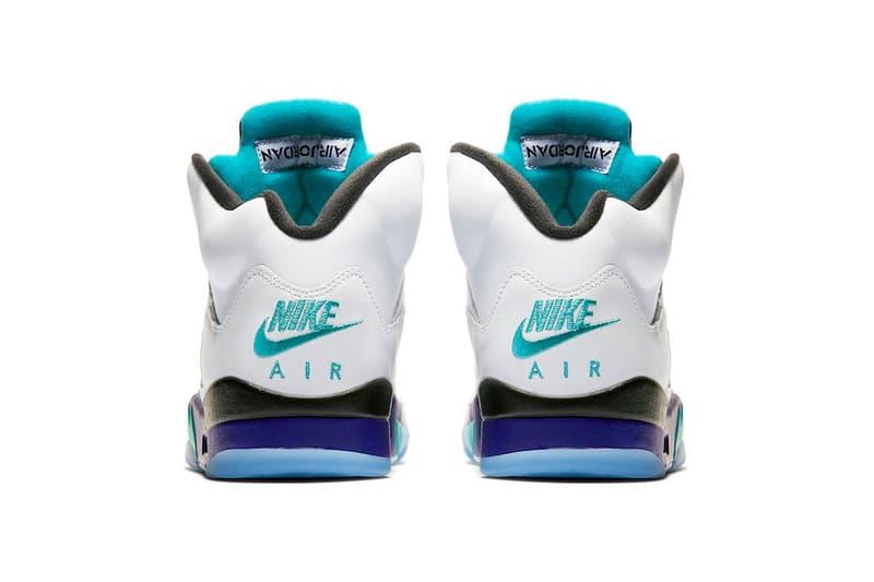 Air Jordan 5 無鞋帶別注配色「Fresh Prince」官方圖片釋出