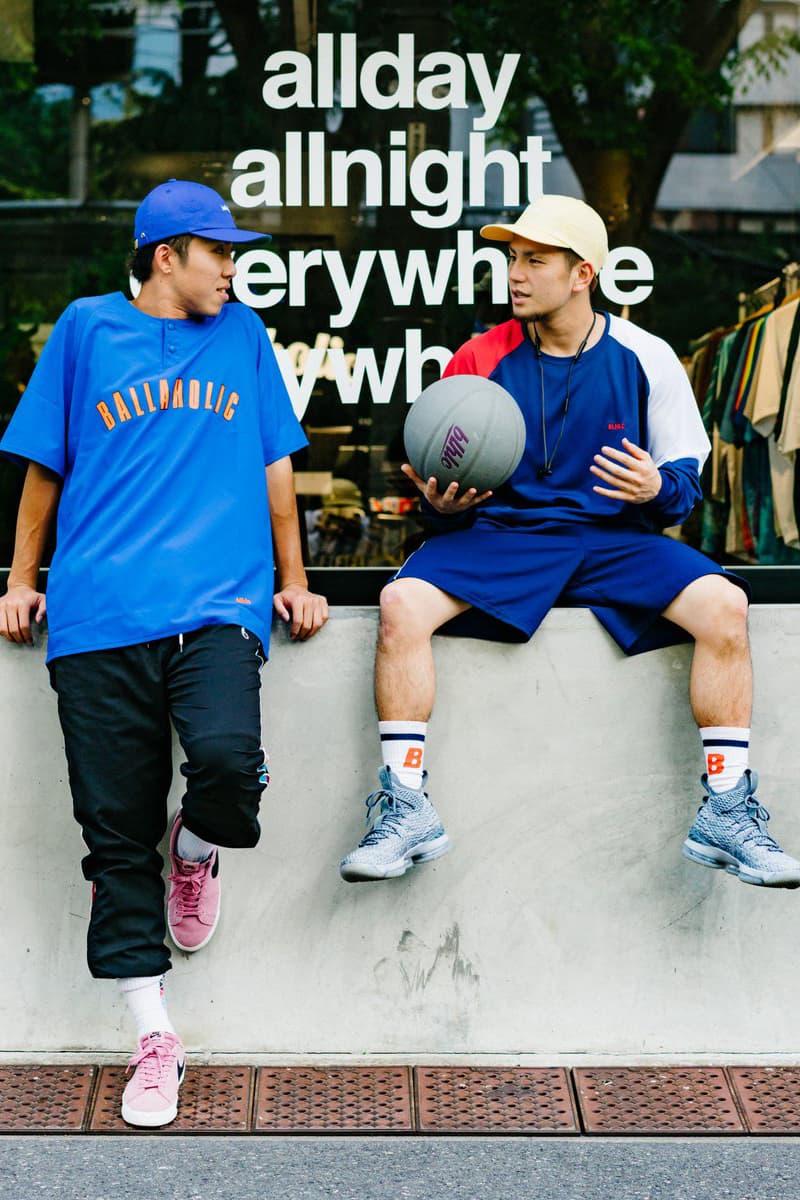 日本著名街頭籃球品牌 ballaholic 舉行香港期間限定店