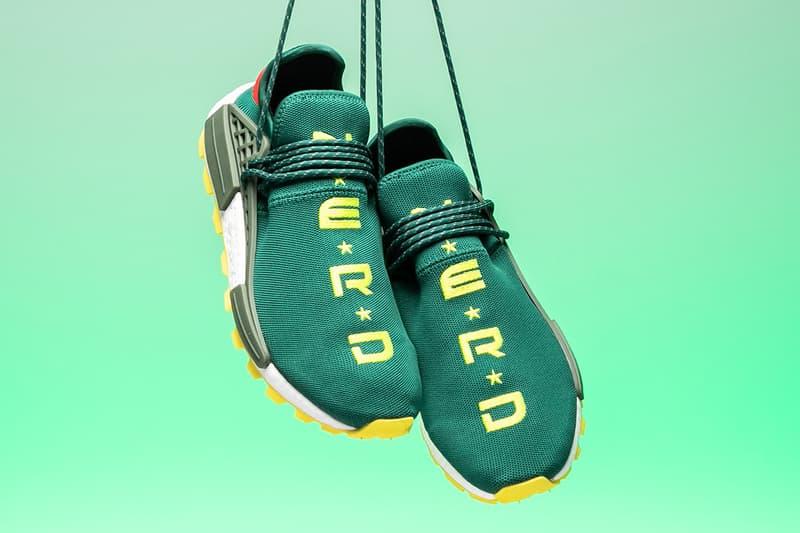 Pharrell x adidas Originals Hu NMD 全新「N*E*R*D」別注配色上架