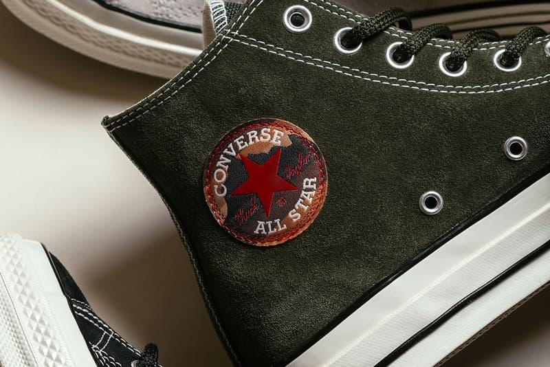 Converse Chuck Taylor All Star 70 Hi 全新「Suede」別注系列上架