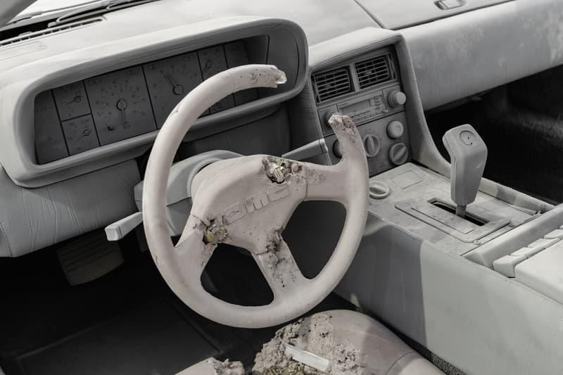 混凝土藝術超跑!走進 Daniel Arsham 最新美國紐約個展「3018」