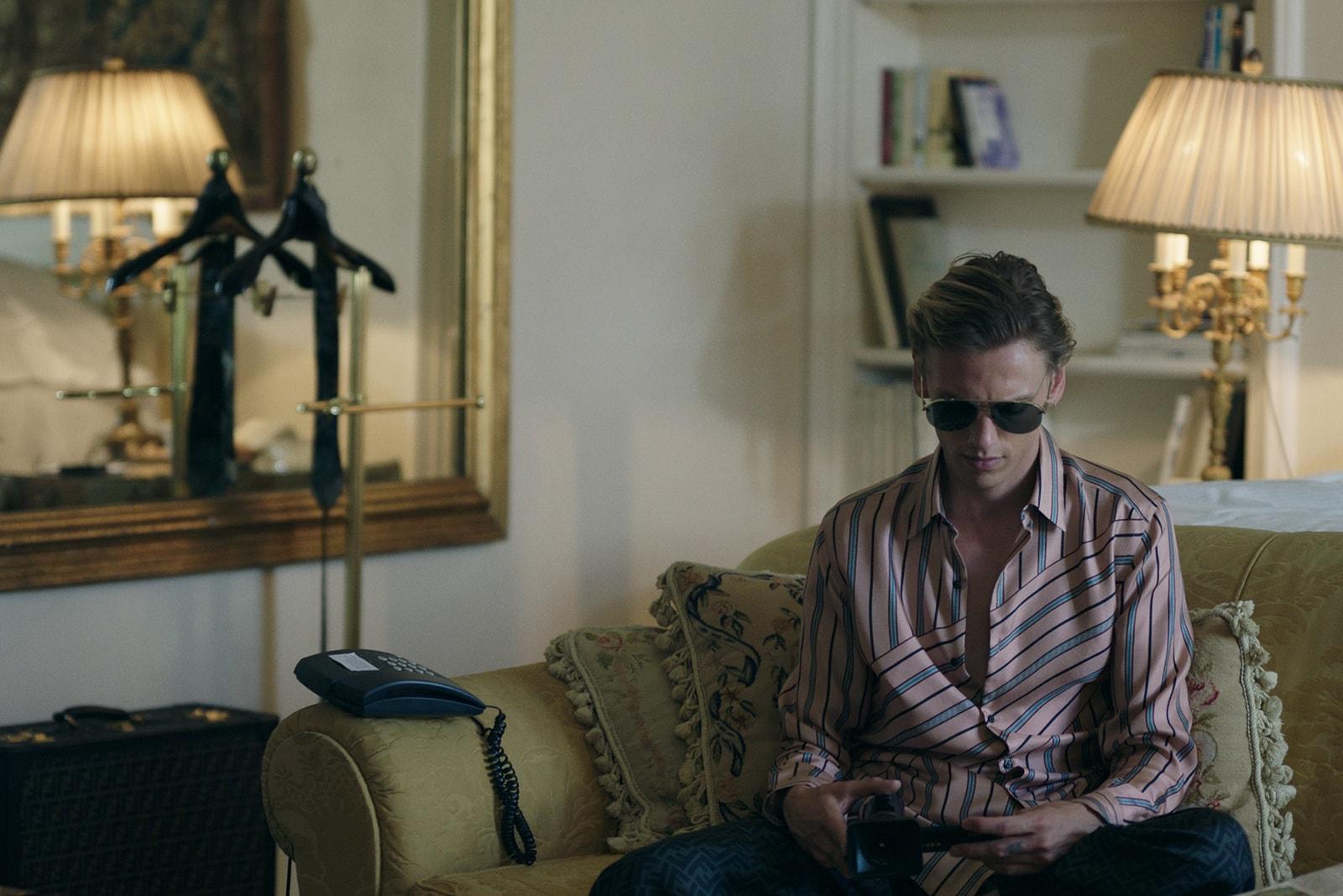 新一代御用殭屍男 Jamie Campbell Bower 演出 Fendi《Play Me》秋冬男裝眼鏡系列大片
